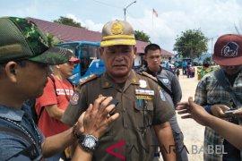 Satpol PP Bangka Selatan amankan alat berat untuk operasi tambang ilegal