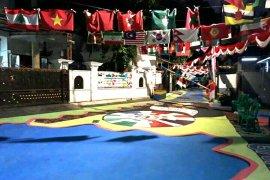 Obor Asian Para Games singgah di Kampung Tomang