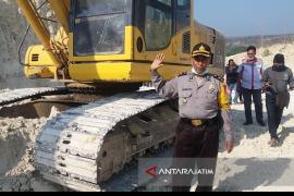 Polisi klaim aktivitas pertambangan di Situbondo legal
