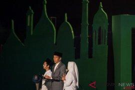 Presiden Jokowi: Sejarah catat peran santri perjuangkan kemerdekaan