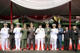 Ridho: Sinergitas TNI-Polri Persembahkan Prestasi Membanggakan  Pembangunan Lampung