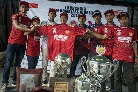Timnas Indonesia untuk Homeless World Cup 2018