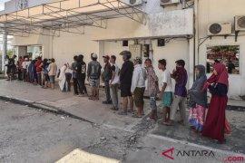 Korban bencana yang eksodus tetap dapat bantuan