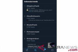 #WajahmuPlastik hingga #SaveRioDewanto jadi trending topic