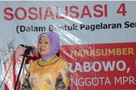 Pagelaran Wayang Kulit ramaikan sosialisasi Empat Pilar MPR di Banyuasin