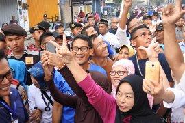 Prabowo-Sandi menargetkan kemenangan di atas 60 persen di Sumatera Selatan