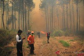 BNPB kerahkan water bombing padamkan kebakaran Ciremai