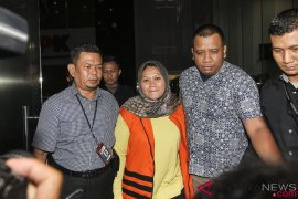 KPK: Neneng Hassanah dalam kondisi hamil