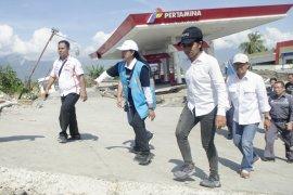 Menteri Rini puji kerja cepat BUMN pulihkan Palu dan Donggala