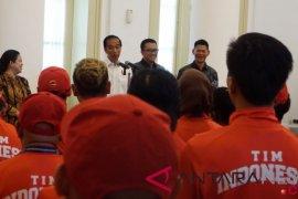Presiden Jokowi puji perjuangan atlet Asian Para Games