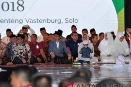 Presiden ajak cucu hadiri apel akbar santri