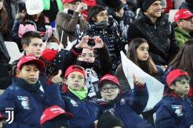 Juventus akan isi tribun selatan dengan anak-anak