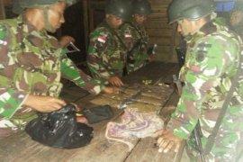 Kostrad sita paket ganja di Mosso Papua