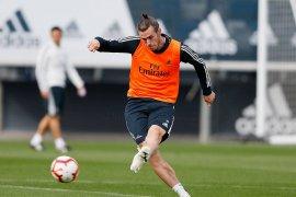 Bale kembali berlatih bersama Real Madrid