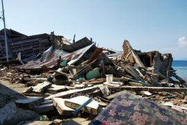 Sampai saat ini, korban meninggal gempa-tsunami Sulteng 1.234 orang