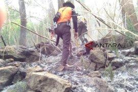 Kebakaran kawasan Gunung Ciremai belum padam