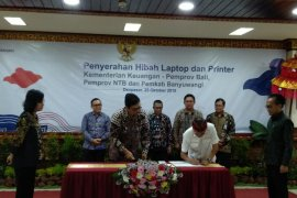 Kemenkeu hibahkan laptop untuk Bali, NTB dan Banyuwangi (video)