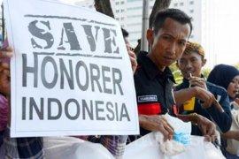 Ribuan honorer Cianjur ke Jakarta sampaikan aksi tuntutan