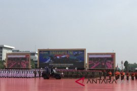 Presiden pimpin upacara HUT TNI di Cilangkap