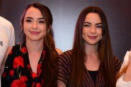 YouTuber kembar AS cicipi jus alpukat di Indonesia