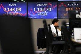 Bursa saham Seoul berakhir naik 0,37 persen
