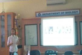 Kuliah Tamu Biologi IPB: Spesies endemik banyak ditemukan di dataran tinggi Sulawesi
