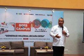 Mendes ajak generasi milenial bangun dan promosikan desa