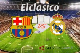 Barca menang telak 5-1 pada laga el clasico