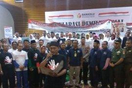 KPU Jambi sosialisasi pemilu kepada pemilih pemula (video)