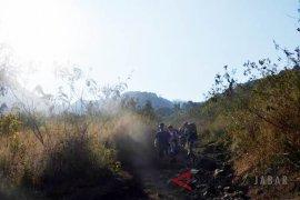 Identitas tiga pendaki tewas di Gunung Tampomas diketahui