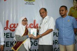 Wali Kota buka launching integrasi pelayanan perpustakaan berbasis teknologi informasi