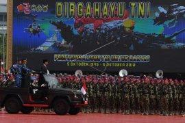 Presiden hadiri HUT ke-73 TNI