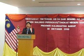 Indonesia-Malaysia rapat sosial ekonomi perbatasan