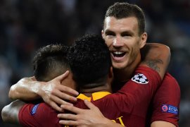 Trigol Dzeko hiasi pesta gol Roma ke gawang Viktoria