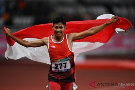 Dari para atletik Sapto sumbang emas ketiga Indonesia