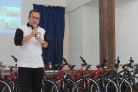 Siap menyambut Green Campus 2020,  Fakultas Kehutanan resmikan Program Sepeda Asuh