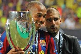 Henry terinpirasi Guardiola dan Wenger dalam melatih