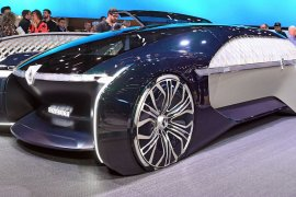 Renault perkenalkan EZ-Ultimo, mobil listrik konsep swakemudi yang flamboyan