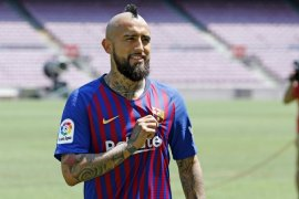 Baru gabung Barcelona, Vidal ungkapkan ingin main di Meksiko