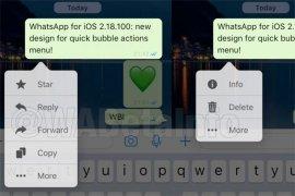 WhatsApp 2.18.100 untuk iOS tersedia, begini detilnya