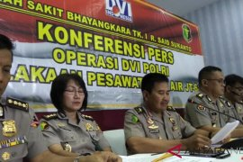 Tim DVI Polri keluarkan daftar 92 korban kecelakaan Lion Air JT 610