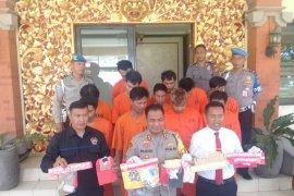 Polresta Denpasar bekuk 11 tersangka peredaran narkoba