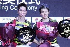 Minions juara turnamen China Terbuka 2018
