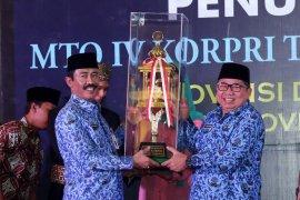 Banten Juara Umum MTQ Nasional  Korpri  2018