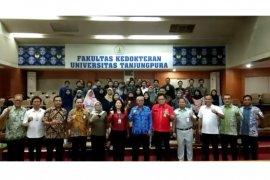 """""""BUMN mengajar"""" di Universitas Tanjungpura Pontianak"""
