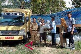 DKP Bangka Barat salurkan 110.000 benih ikan