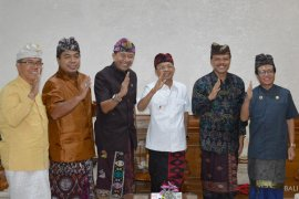 """Koster dukung Bali jadi tuan rumah """"Dharma Santi"""""""