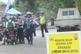 598 pengguna kendaraan Bekasi terjaring Operasi Zebra