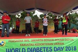 Dinkes ajak masyarakat cegah dan kendalikan diabetes