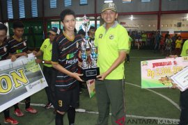 SMKN 5 Banjarmasin jawara Kodim 1007 Student Futsal Campionship 2018
